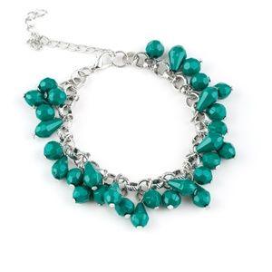 Malibu Masquerade - Green Bracelet